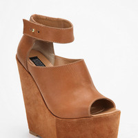 Deena & Ozzy Suede & Leather Extreme Platform Wedge