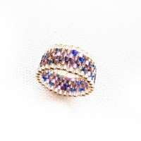 Enigma. Boho Chic Custom Band Ring .. on Luulla