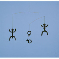Flensted Mobiles Man and Woman Mobile at Velocity Art And Design - Your home for modern furniture and accessories in Seattle and the US.