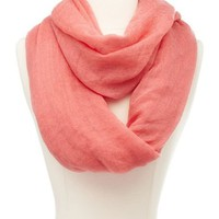 Lightweight Woven Infinity Scarf: Charlotte Russe