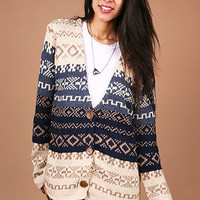 Nordic Notes Cardigan - Knit Cardigans at Pinkice.com