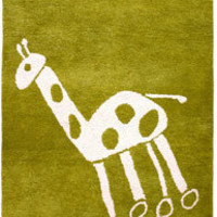 Bholu Quinton Giraffe Rug at Velocity Art And Design - Your home for modern furniture and accessories in Seattle and the US.
