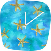 DENY Designs Home Accessories | Rosie Brown Wish Upon A Star Modern Clock