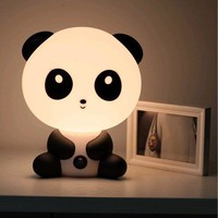 Cute Cartoon Baby Kungfu Panda Rabbit Bear Dog Night Light Lamp