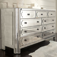 """Logan"" Large Mirrored Chest - Horchow"