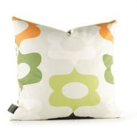 Inhabit Laugh in Grass and Lime Pillow at Velocity Art And Design - Your home for modern furniture and accessories in Seattle and the US.