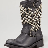 Tokyo Studded Flat Short Boot