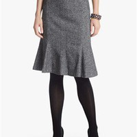 Tweed Trumpet Skirt - White House | Black Market
