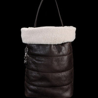 Medium leather bag Women - Handbags Women on Moncler Online Store