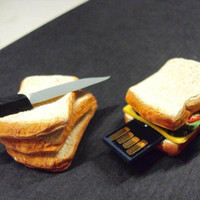 Sandwich 4Gb USB Memory Stick by SmallIdea on Etsy