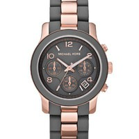Michael Kors Women's MK5465 Runway Grey Watch