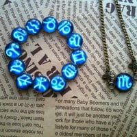 Zodiac pendant necklace by Victorianstudio on Etsy