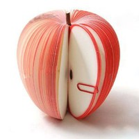 Amazon.com: Unique Creative Apple Shaped Memo Pad - Small (About 150-page): Office Products