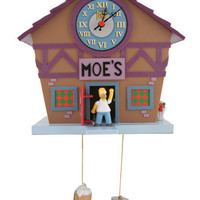 SIMPSONS HOMER SIMPSON MOES BAR CUCKOO CLOCK NEW BOXED | eBay