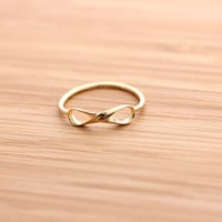 twisted INFINITY ring, in 925 sterling | girlsluv.it
