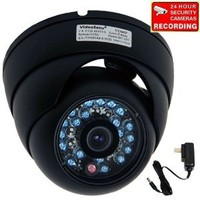 Amazon.com: VideoSecu Day Night Vision Outdoor CCD CCTV Security Dome Camera Vandal-proof 3.6mm Wide View Angel Lens 420TVL with Free Power Supply 1Z0: Camera & Photo