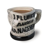 Amazon.com: Big Mouth Toys Anger Management Ceramic Mug: Kitchen & Dining