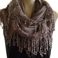 La BohemeChocolate Milk laced and fringed by Textilemonster