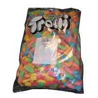 "Trolli ""King Size"" Large Brite Crawlers Gummi Candy Worms, 5lb Bulk Bag: Amazon.com: Grocery & Gourmet Food"