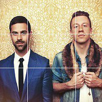 MACKLEMORE AND RYAN LEWIS MUSIC HUGE MOSAIC POSTER 35 INCH x 25 INCH