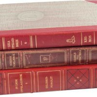 One Kings Lane - Kendall Wilkinson - Vintage Decorative Book Bundle, Set of 3