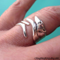 925. Greyhound dog ring - Solid sterling silver ring jewelry, Adjustable, (Matte or Shine) 111612