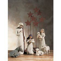 Willow Tree-: 6 Piece Figurines Nativity Set