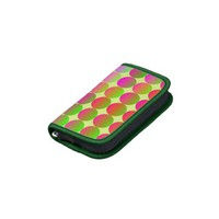 Brightly Colored Dots Folio Planner from Zazzle.com