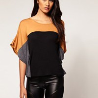 Club L | Top colour block de Club L en ASOS
