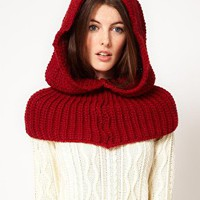 French Connection Undercover Knitted Snood at asos.com
