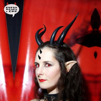 In Stock Large Costume Horns Natural Bone by GypsyRosesDotOrg