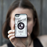 Camera iPhone 4s case, plastic case, men,  gadget case, Christmas gift, photographers