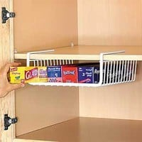 Amazon.com: Under Shelf Wrap Rack in WHITE model 1983W from Organize It All: Patio, Lawn & Garden