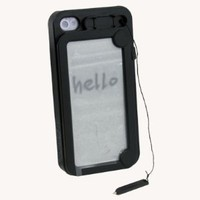 Amazon.com: Black Funny Hard Case Cover With WordPad For Apple iPhone 4 4S: MP3 Players &amp; Accessories