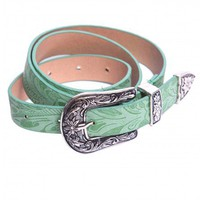 Fox belt in green  | Show Pony Fashion online shopping