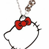 Hello Kitty Outline Necklace