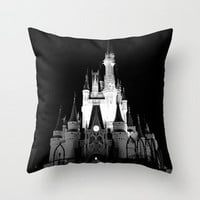 Where Dreams Come True Throw Pillow