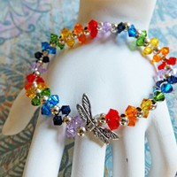 Balancing Chakra Swarovski Crystal Stretch Bracelet