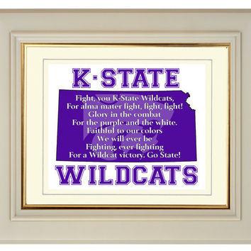 Kansas State Wildcats Football Fight Song From
