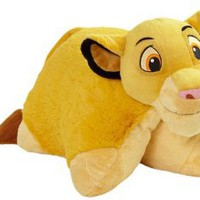 Amazon.com: My Pillow Pets Authentic Disney Simba 18-Inch Folding Plush Pillow, Large: Home &amp; Kitchen