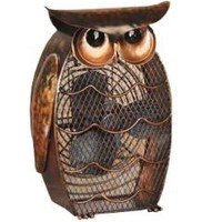 Amazon.com: Deco Breeze DBF0365 Decorative Figurine 20-Watt Metal Fan, Owl: Home & Kitchen