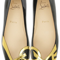 Christian Louboutin Love flat shoes - &amp;#36;115.00