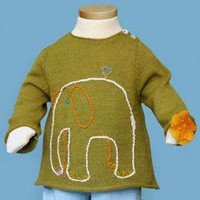 Embroidered Zapata Sweater from Blabla: Tiddley Widdley Toy & Book Store