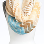 David &amp; Young Zigzag Mix Print Scarf | Nordstrom