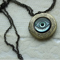 Harry Potter Necklace - The Wizards Amulet - LOCKET - HP Gear