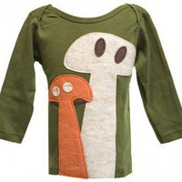 "Decaf Plush ""Mushroom Friends"" Bodysuit or T-Shirt"