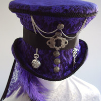 Time Keeper Ameth's Top Hat by Blackpin on Etsy