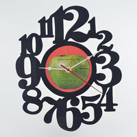 Vinyl Record Album Wall Clock (artist is The Beatles)
