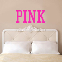 PINK Victoria&#x27;s Secret Inspired Vinyl Wall Decal