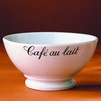 Pillivuyt Caf Au Lait 13 oz Coffee Bowl | Wayfair